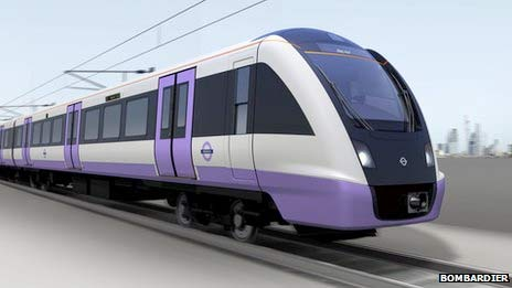 Image of Congratulations to Bombardier on winning the Crossrail contract