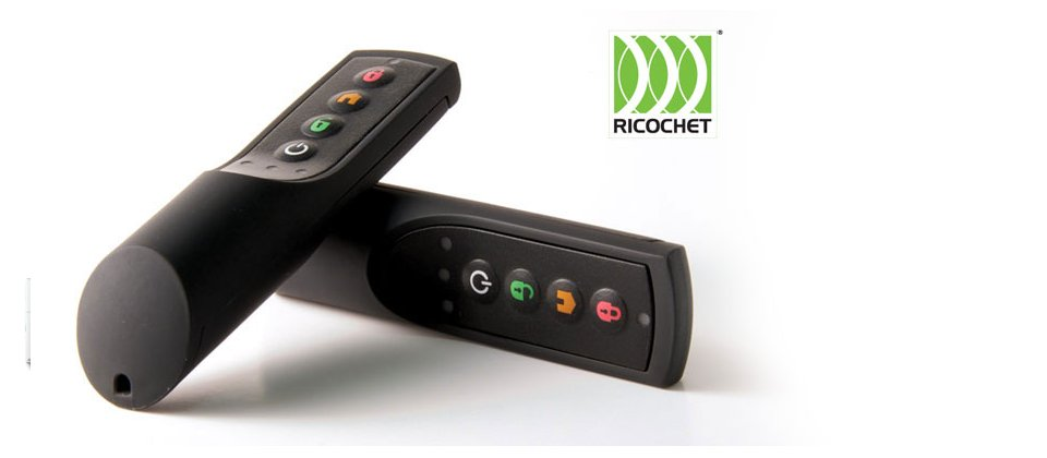 Image of Ricochet wireless alarm controller from Texecom
