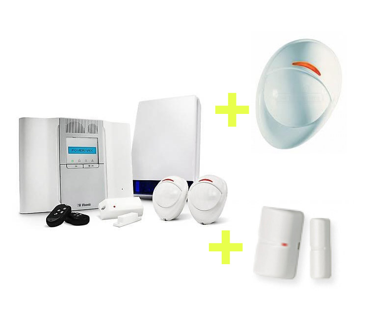 Image of Wireless alarms are simple to install, easy to use
