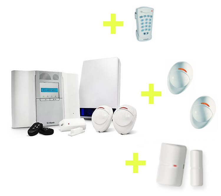 Image of Wireless alarm systems are simple and quick to install, easy to use